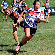 Michaela Baker Women 7s team Nationals Colorado
