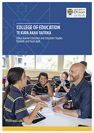 2020 College of Education prospectus cover 186