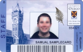 ID Staff Card Front View