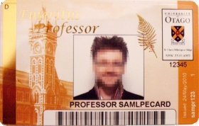 ID Emeritus Professor Card