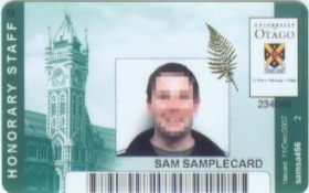 ID Honorary Staff Card