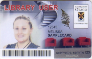ID Library User Card