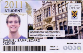 ID 2011 Student Card