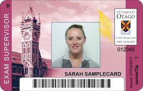 ID Card Exam Supervisor