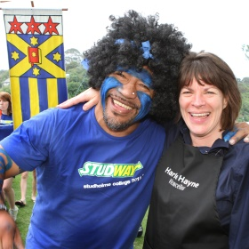 ziggy wig and vice chancellor 2012