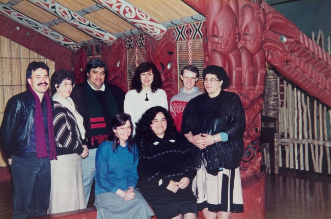 Māori Studies staff in 1991
