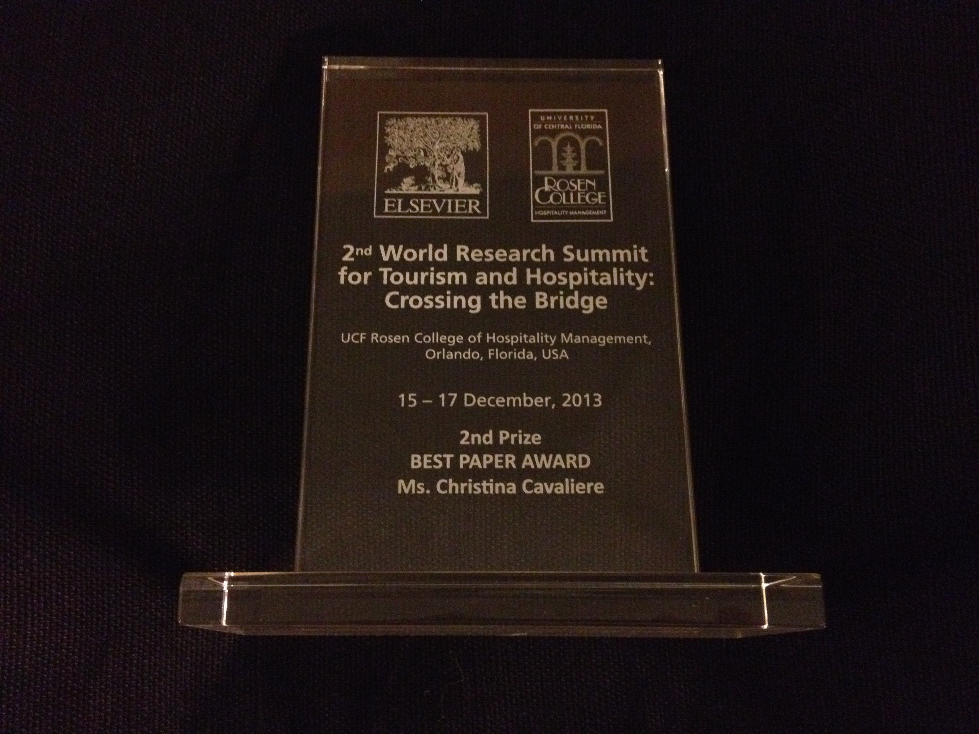 World Research Summit Award