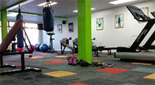 Unicol fitness room