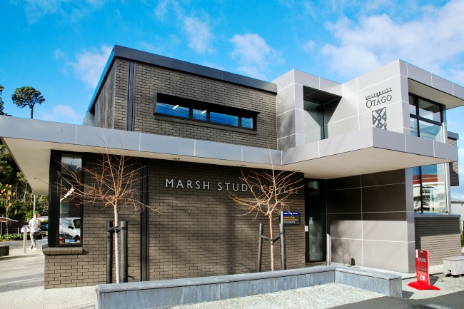 Entrance to the Marsh Study Centre