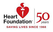 Heart Foundation 50 Years logo thumbnail