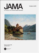 journal cover - Journal of the American Medical Association
