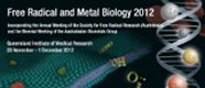 Free Radical and Metal Biology conference poster