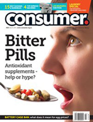 Consumer Magazine Cover March 2013