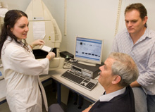 Chemidoc biomolecular imager in the Centre for Free Radical Research