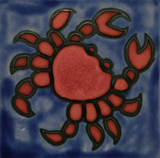 Cancer - The Crab (Original tile by Morris & James, Matakana, NZ)