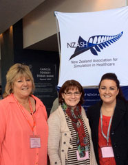Dr MaryLeigh Moore with Sarah Boyd & Sandi Elliott from GGTUDRH at NZASH June 2014