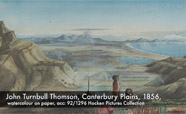 John Turnbull Thompson painting of Canterbury Plains_thumbnail