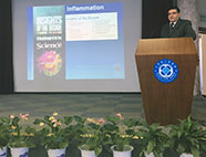 Madhav Bhatia speaks at a conference in China 2016