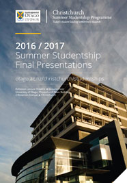 cover-Summer studentships final presentations schedule PDF