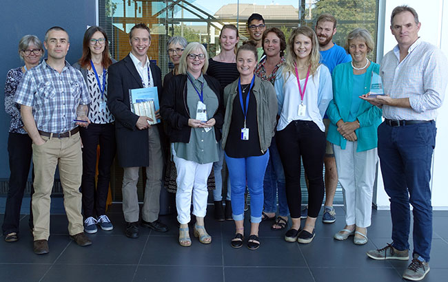 Academic Welcome 2017 All Pathology Prizewinners