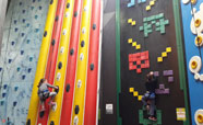Sky high fun at Clip and Climb (2017)<br />Photo: Rebecca Coombes