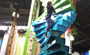 Clip and Climb at the YMCA (2017)<br />Photo: Rebecca Coombes