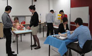 Students in the Simulaton Centre Training Room_thumbnail