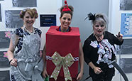 Pathology Admin Team in Christmas fancy dress (2017)_thumbnail