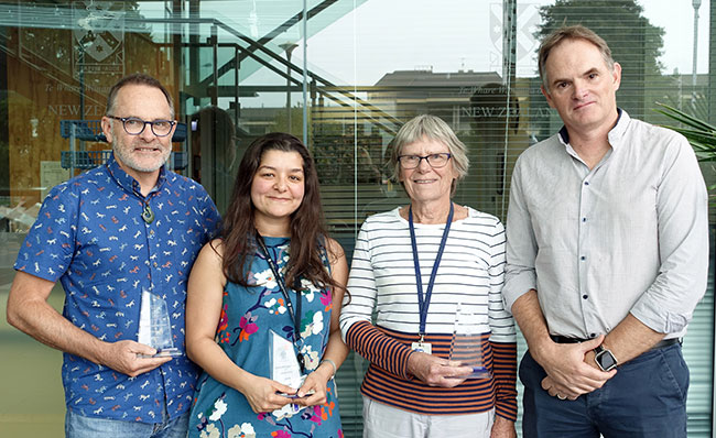 Academic Welcome 2018 Centre for Free Radical Research  prize-winners
