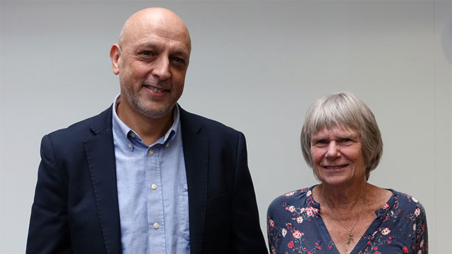 Rafael Radi and Christine Winterbourn (April 2018)