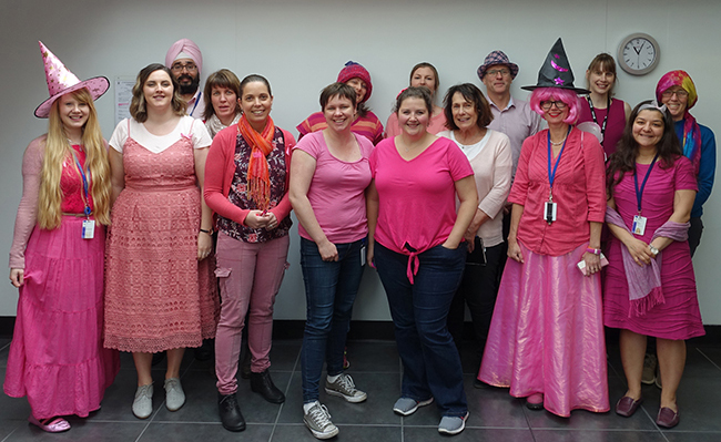 Pathology Pink for a Day 2018
