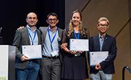 Dr Khoon Lim and other ISBF Young Investigator Award recipients in Wurzburg Germany thumbnail