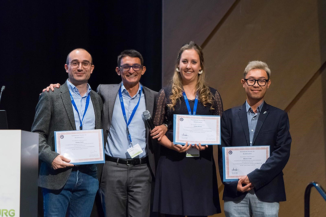 Dr Khoon Lim and other ISBF Young Investigator Award recipients in Wurzburg Germany