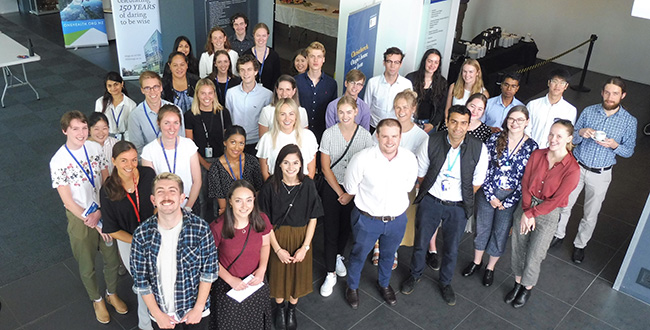Group photo for Summer Studentship Programme Image
