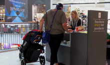 Alice-at-mall-with-mother-and-stroller