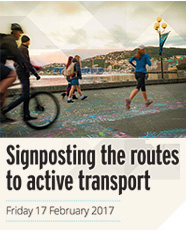 Signposting the routes