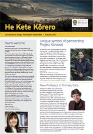 He Kete Korero - 2017 Autumn (full front page)