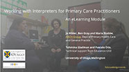 Working with Interpreters for Primary Care Practitioners Module Cover