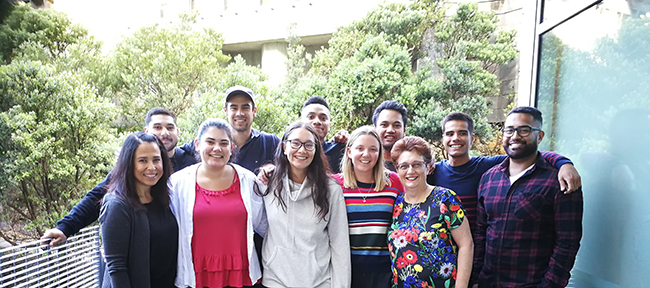 UOW-Pacific-Medical-Students with Dianne Sika-Paotonu and Diane Kenwright