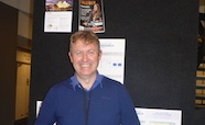 Picture of Dr Gary Evans (Victoria University) at the QMB ID 2017 meeting