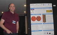 Picture of Dr Ian Monk (Doherty Institute) who was awarded a poster prize at the QMB ID 2017 meeting