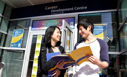 students-outside-the-career-centre
