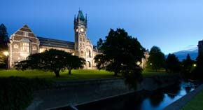 The University of Otago is New Zealand's first