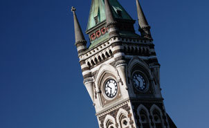 University of Otago Clocktower.