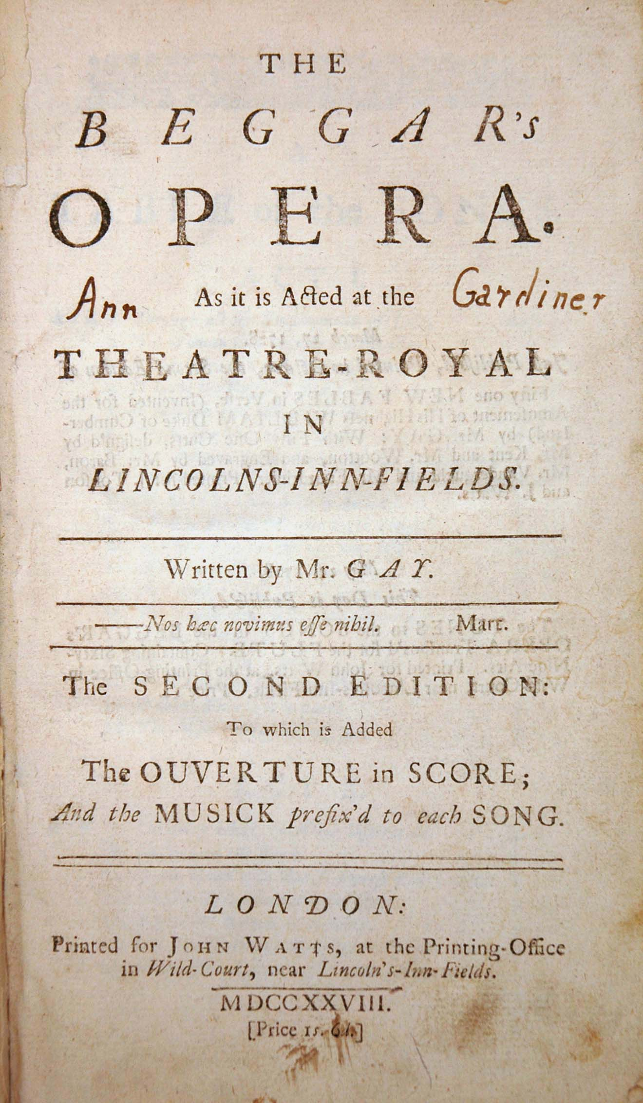 the use of comedy and parody in the beggars opera by john gay We use cookies to give you the best possible experience  gay com posed his celebrated beggars' opera  although intended as a parody upon philips' pastorals,.