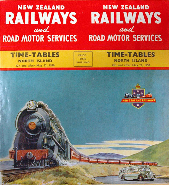 Cabinet 18: Rail in New Zealand, All Aboard! The Ernie