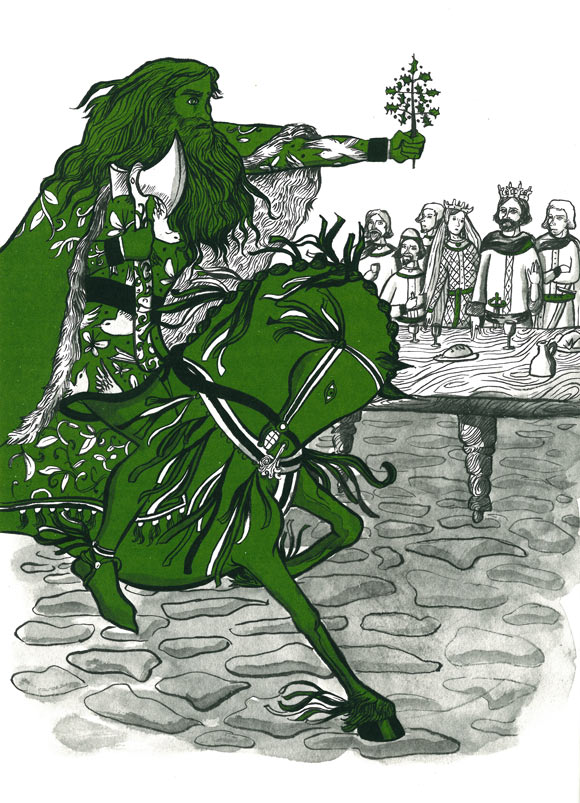 sir gawain and the green knight essay thesis