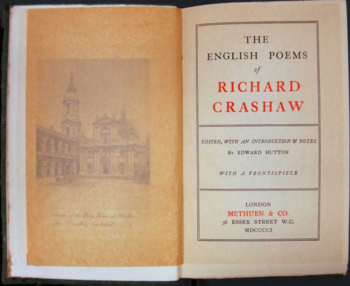 Richard Crashaw history