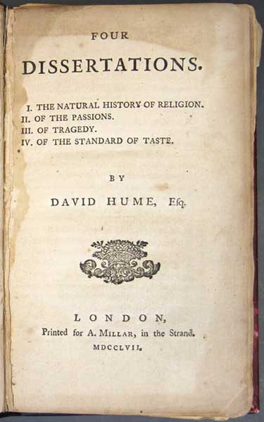 david hume essays on taste David hume of the standard of taste and other essays of elia, cover letter for internal audit assistant social institutions family essay contest.
