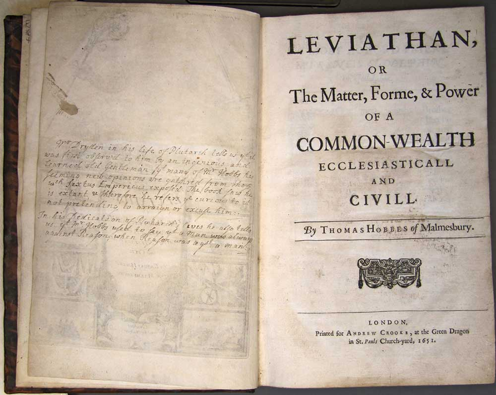 thomas hobbes leviathan summary Hobbes argues that man's natural condition is one of constant war – every man  against every man he argues that there are natural laws that.